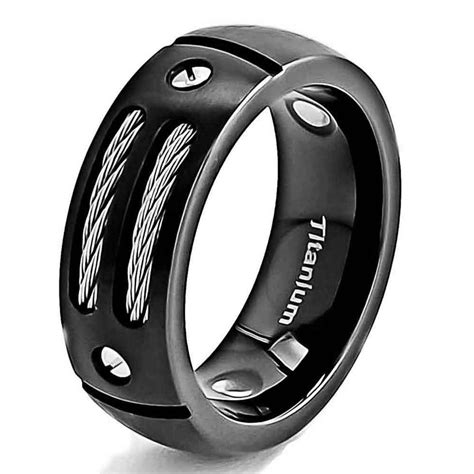 titanium wedding rings for mens titanium wedding rings engagement ring unique engagement ring