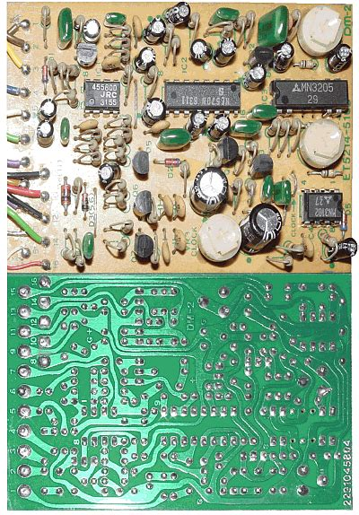 boss dm  delay guitar pedal schematic diagram