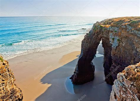 Beach Of Cathedrals Galicia Spain — Stock Photo © Mmedp