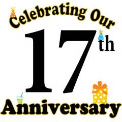 17th wedding anniversary mens 17th anniversary