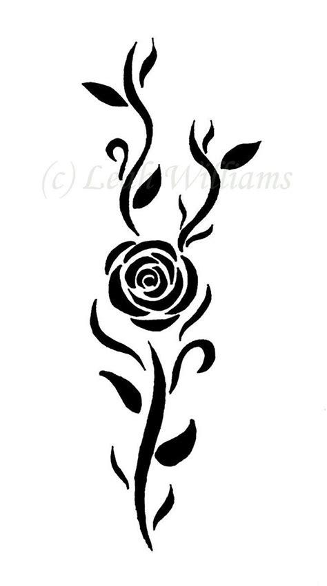 Rose Tattoo by Maria87 on DeviantArt   Tribal rose tattoos