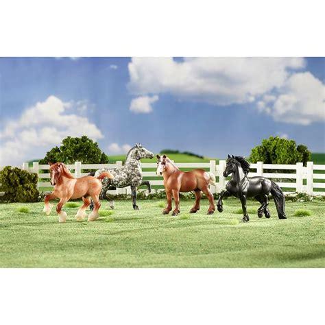 breyer horse draft horses stablemates gentle giants appaloosa classics leopard semi includes giant