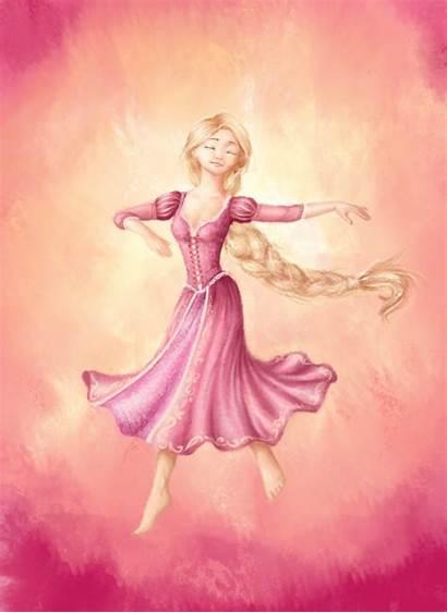 Rapunzel Dance Kingdom Deviantart Midnight Tangled Disney