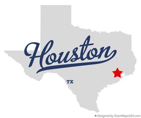 texas houston map