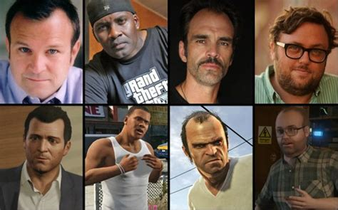 Voice Actors And Their Virtual Dopplegangers In Gta 5