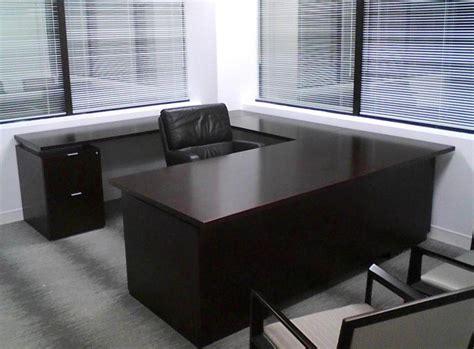 black office desk black executive desks office furniture home design