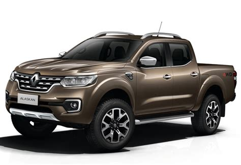 renaults hilux fighter  alaskan bakkie revealed