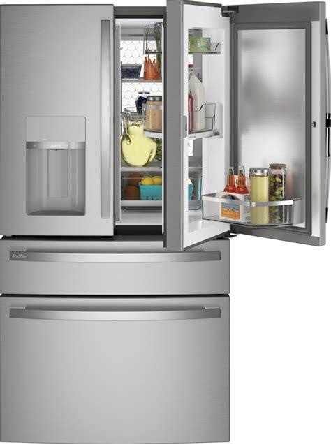 pvdbynfs ge profile   cu ft  door french door refrigerator stainless steel