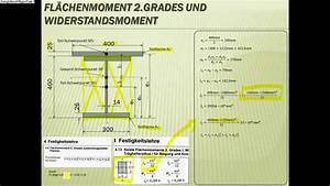 T Berechnen : technische mechanik bungsaufgabe nachhilfe fl chenmoment 2 grades widerstandsmoment youtube ~ Themetempest.com Abrechnung