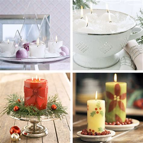 christmas decoration candles 25 cool christmas candles decoration ideas digsdigs