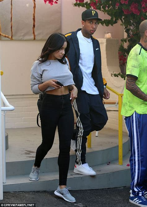 Tyga and His New Girlfriend