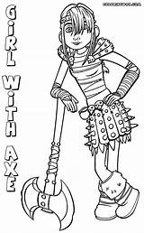 Axe Coloring Pages Template Colorings Coloringway sketch template