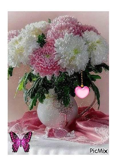 Flowers Vase Flower Diamond Vases Giphy Cross