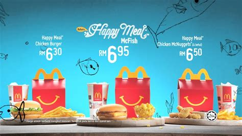 mcdonalds mcfish happy meal bm youtube
