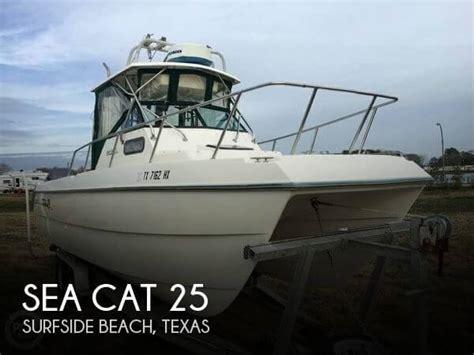 Creek Cat Boat For Sale 1997 sea cat 25 power boat for sale in jones creek tx
