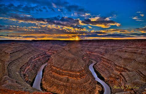 goosenecks state park utah overlook view photograph