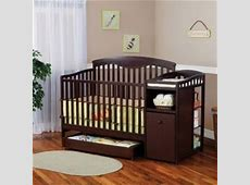 Delta Shelby Classic Crib and Changer by Delta Storage