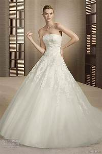 white one wedding dresses 2012 wedding inspirasi With robe de mariée en tulle