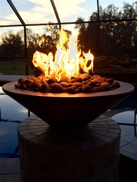 fire features fire pits custom pool builder sarasota
