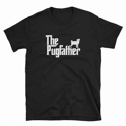 Pug Father Dad Shirt Gift Funny Mockup