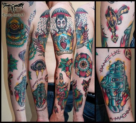Oldschool Sleeve3rd Prize Best Traditional Tattoo At The