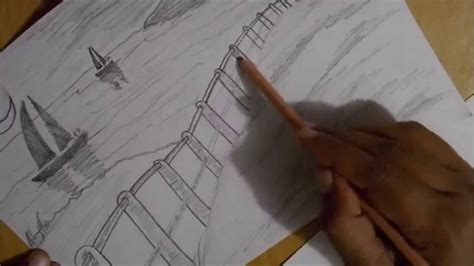 drawing lessons  beginners basic landscape sketch