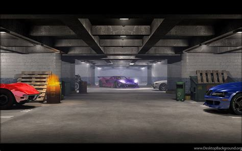 Garage Of Cars by Gallery For Car Garage Wallpapers Desktop Background