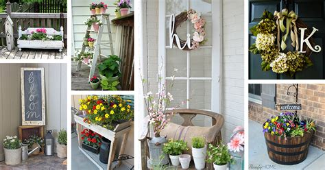 30+ Best Rustic Spring Porch Decor Ideas And Designs For 2019
