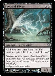 slivers on a budget magic the gathering