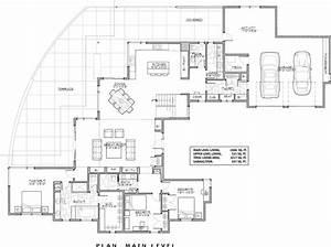 Luxury, Contemporary, Luxury, Modern, Style, House, Plan, 9044