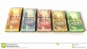 New South African Rand Notes Stock Image - Image of ...