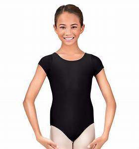 Short Sleeve Classic Girls Gymnastics Leotard For Toddlers ...