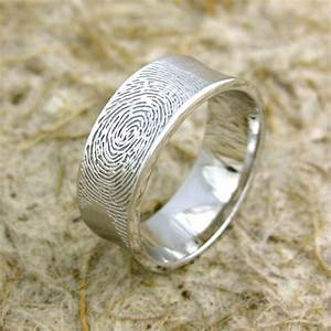 fingerprint wedding rings stuff you should have With wedding ring with fingerprint
