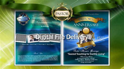 pastor anniversary program templates pastor anniversary program 23908