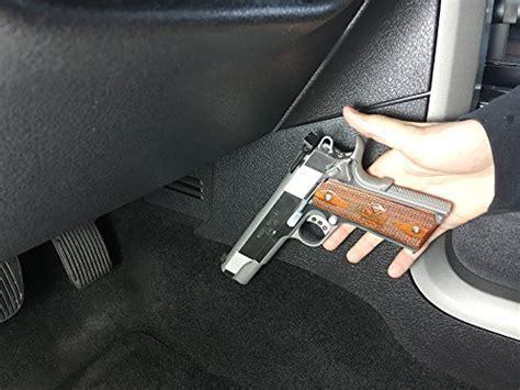 Gun Magnet 35 lb Rated   Adhesive Backing   Car Holster