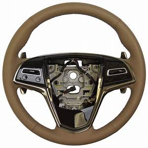 2014 Cadillac Cts Steering Wheel Cashmere Leather New Paddle Shifter 23193076