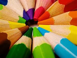 Beautiful Colour  Pencils Colours