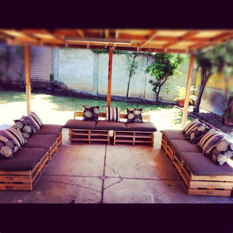 my diy pallet patio furniture pallot furniture