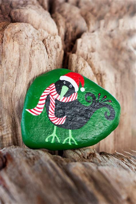 wonderful ideas  painted christmas rocks