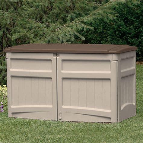 horizontal garden storage shed