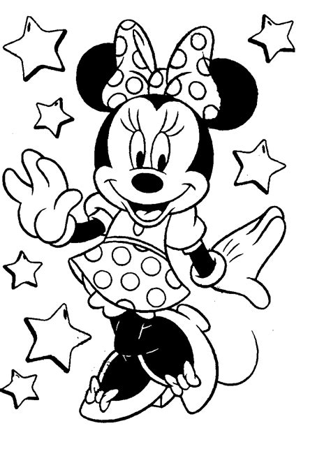 coloring pictures  minnie mouse google search