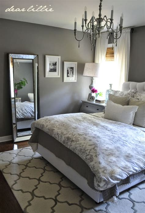 Some Finishing Touches To Our Gray Guest Bedroom By Dear