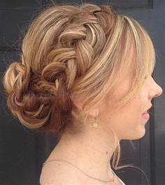 HD wallpapers prom hairstyles for long hair with accessories