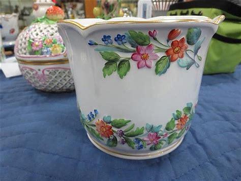 mottahedeh herend porcelain tablewares 19pcs potpourri