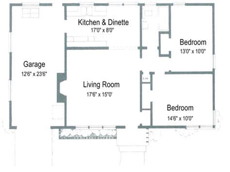 2 open floor plans 2 bedroom house plans with open floor plan australia