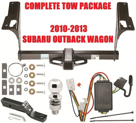 Subaru Outback Trailer Hitch Wiring by Trailer Hitch Wiring Kit Ballmount For 2010