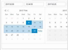 jQuery date range Plugins jQuery Script