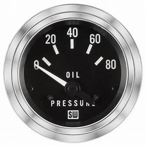 Deluxe Oil Pressure Gauge  P  N 82304