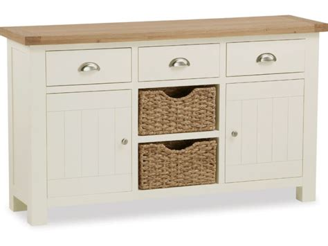 Sideboards With Baskets by Suffolk Buttermilk Large Sideboard With Baskets