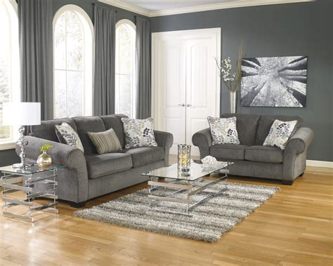 makonnen charcoal queen sofa sleeper from ashley 7800039